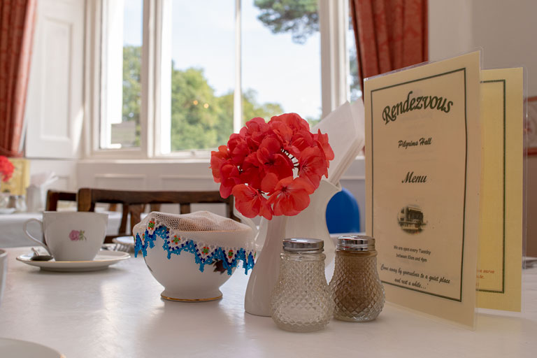 Rendezvous Tea Rooms at Pilgrims Hall