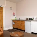 Little Cedar Room kitchen area