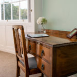 Pine Room – desk by the window