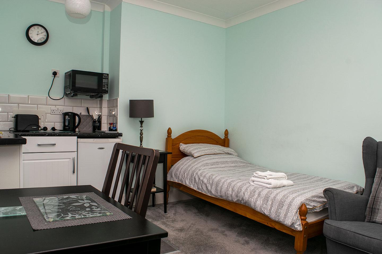 Overnight retreat Ash Suite sleeping area